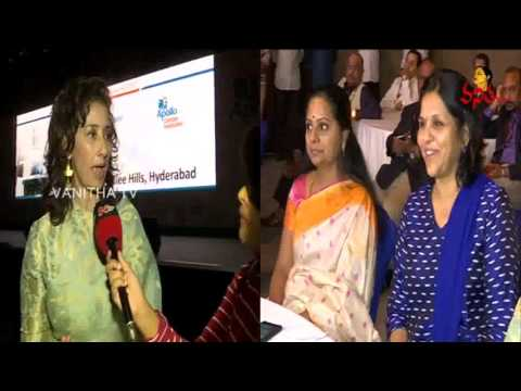 MP Kavitha & Manisha Koirala Participate In Cancer Awareness Programme || Vanitha TV