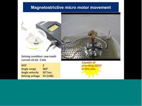 IAI Colloquium: Alison Flatau, Electro-mechanical system modeling & magnetostrictive device analysis