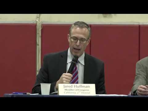 Jared Huffman Town Hall Meeting December 19, 2016