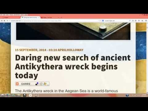 Search Of Ancient Antikythera Wreck Begins Today