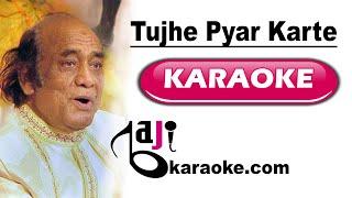 Tujhe pyar karte karte - Video Karaoke - Mehdi Hassan - by Baji Karaoke