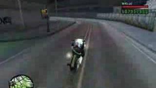 GTA-SA - GHOST RIDER - MOTOQUEIRO FANTASMA