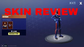 fortnite criterion skin review
