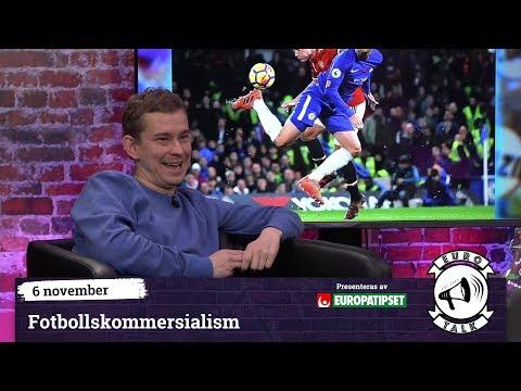 Eurotalk: Fotbollskommersialism (Med Erik Niva)