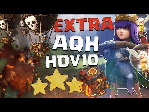 AQH HDV10 TOP COMPO PERFECT   MoBal   BoLaLoon   War Recap Vox Antiqua Vs FPC UK   Clash Of Clans