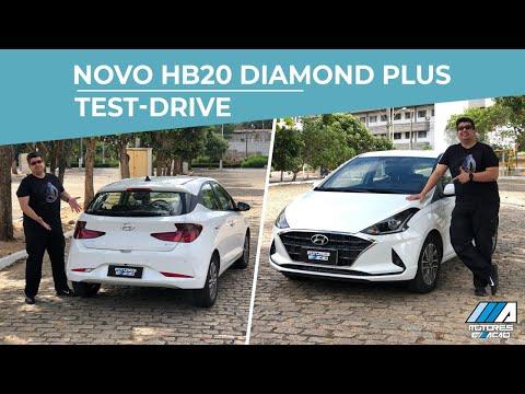 Novo HB20 Diamond Plus Hatch 2020 | Hyundai | Test Drive | Review | Motoreseacao