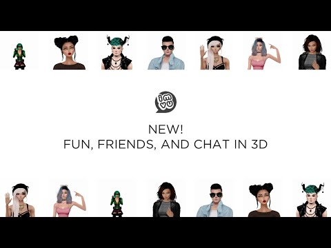 Your IMVU Mobile Experience Now in 3D