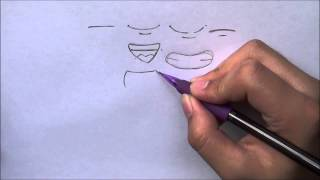 How to Draw Manga Mouth for the Absolute Beginners