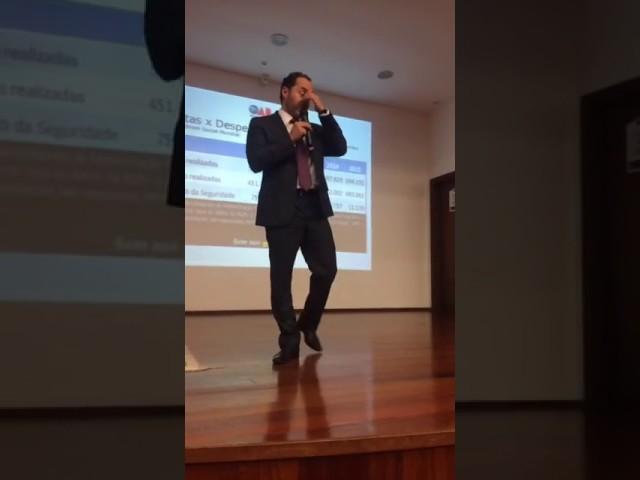 Reforma da Previdência – palestra na Universidade de Caxias do Sul em Canela