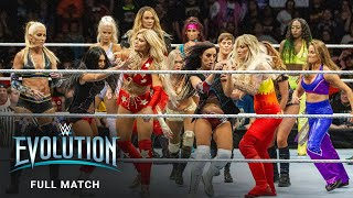 FULL MATCH - 20-Woman Battle Royal: WWE Evolution 2018