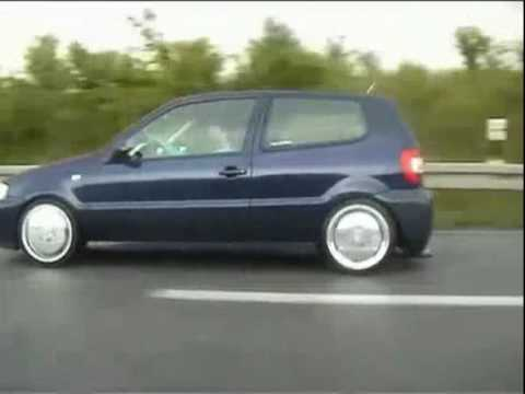 vw polo 6n2 on porsche wheels youtube. Black Bedroom Furniture Sets. Home Design Ideas