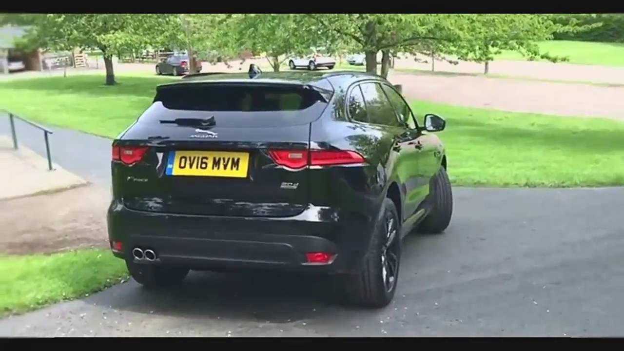 Jaguar F Pace Exterior >> 2017 Jaguar F Pace R Sport 180 Review - Exterior & Interior - YouTube