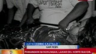 BT: Pamangkin ni Nunungan, Lanao Del Norte Mayor Manamparan, kritikal matapos madamay sa ambush