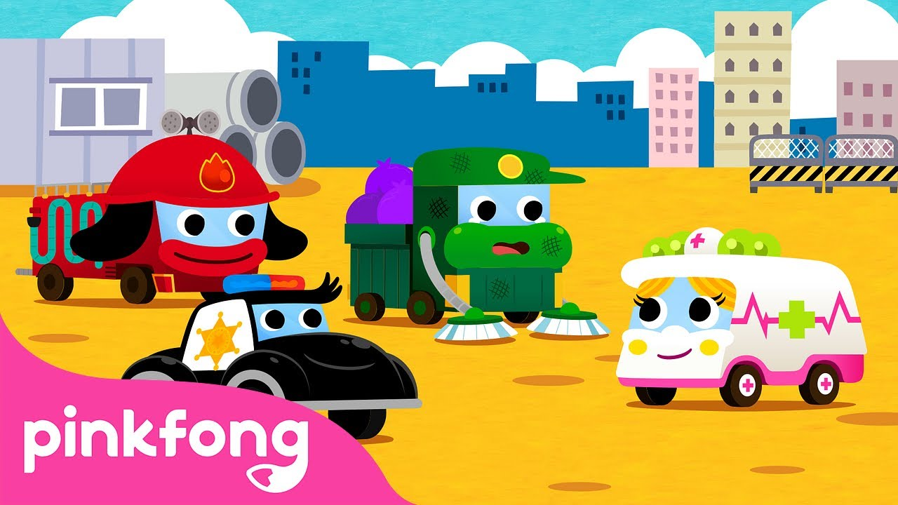 Help the Garbage Truck | Car Story Time | Pinkfong Stories for Children