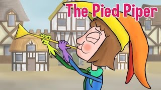 The Pied Piper - Animated Fairy Tales for Children
