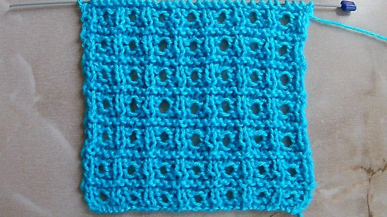 Вязание из квадратиков спицами