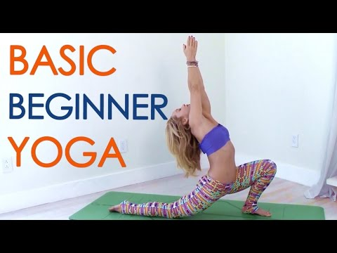 Yoga Basics Class ONE: Beginner Yoga for Everyone with Kino