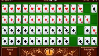 Royal Solitaire gameplay