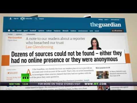 Joke Journalism׃ Guardian admits its reporter fabricated stories