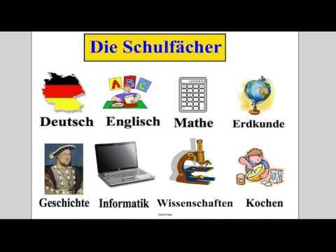 School subjects (German)