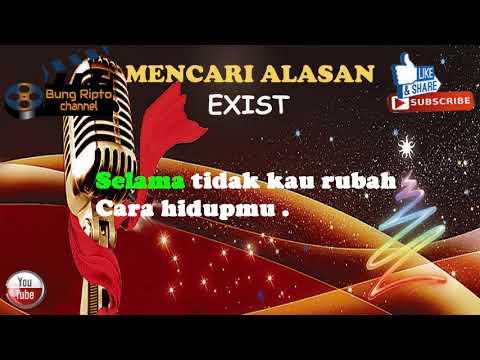 MENCARI ALASAN - AXIST pop karaoke malaysia tanpa vokal