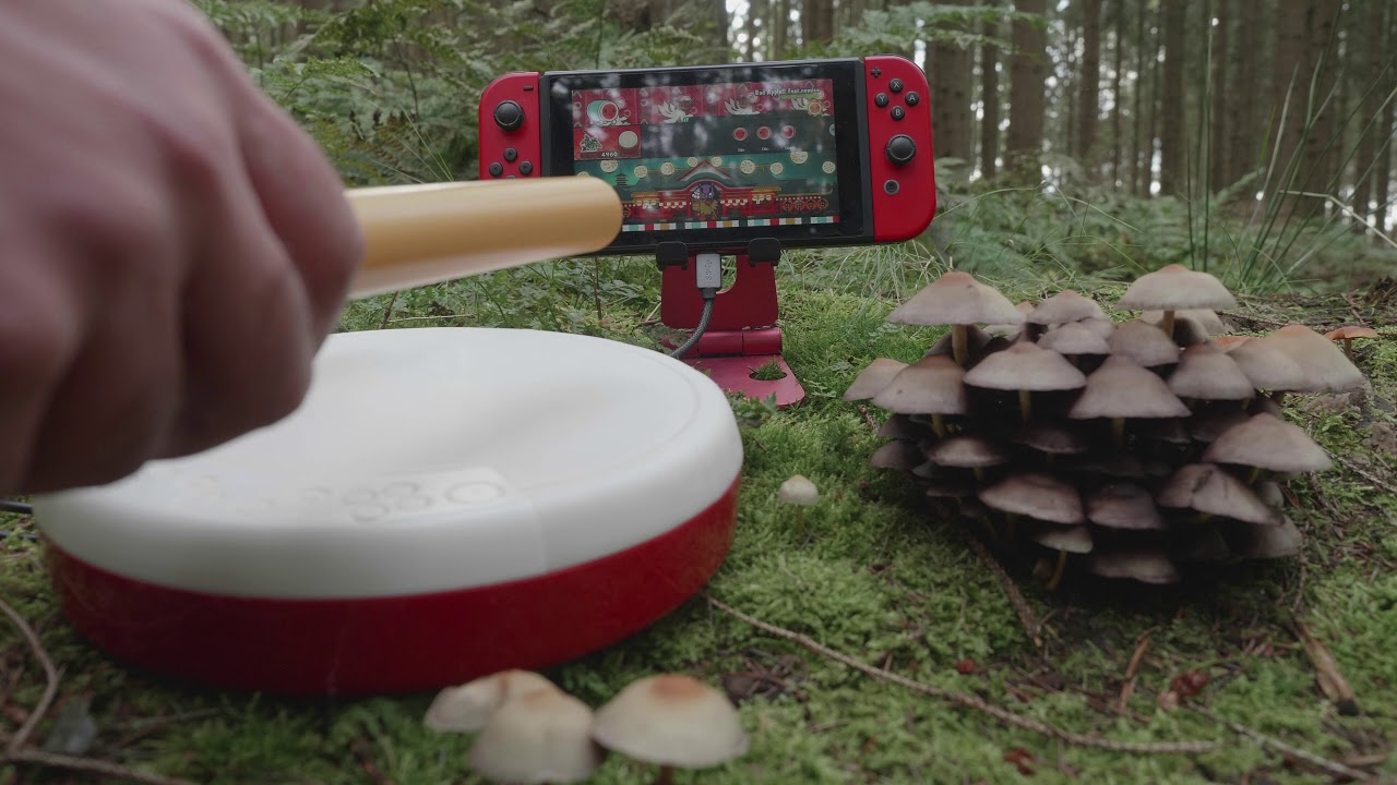 Taiko No Tatsujin - Bad Apple!! feat. nomico - 4K - test in the Woods