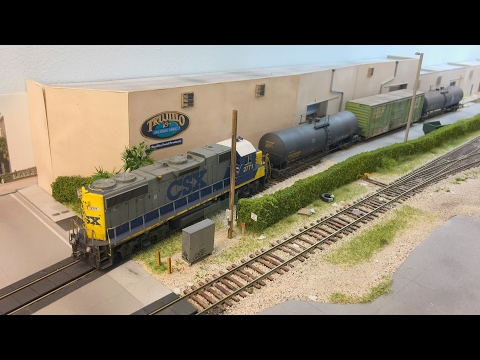 Visiting Lance Mindheim's HO Scale CSX Downtown Spur Miami Layout! 01.30.2017