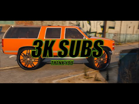 Gta V Donks and Fashion| Outrageous whips| 3k subscribers| Tribute