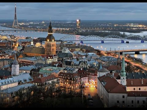 Winter in Rīga, Latvia - European Capital of Culture  2014 - Unravel Travel TV