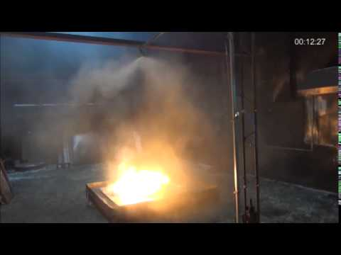 200kg Magnesium Powder Fire