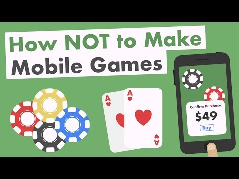 How Not to Make Mobile Games