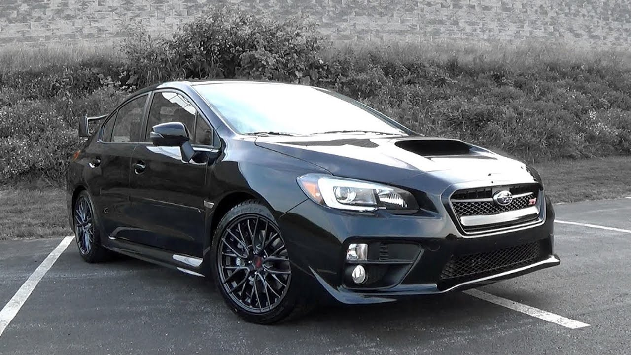 2016 Subaru Wrx Sti Review