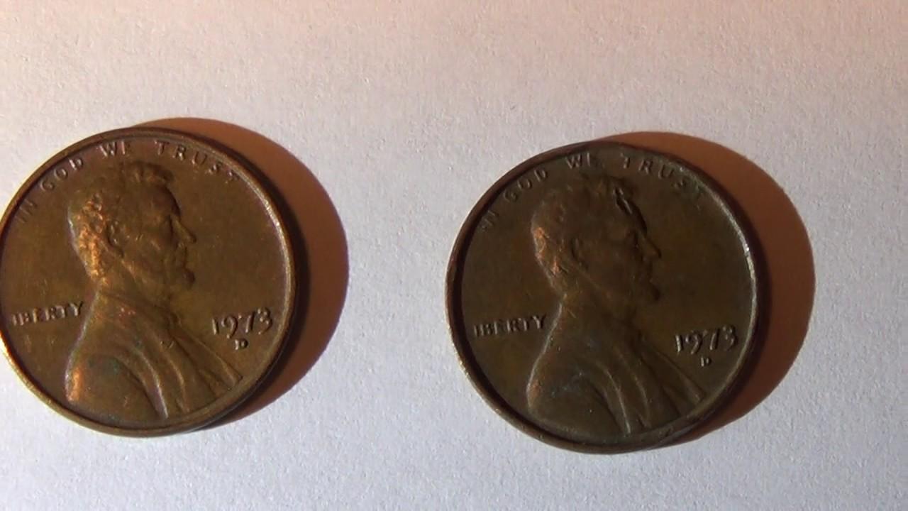 1973 D Penny Error