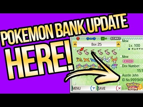 Pokemon Bank Update is HERE and Mew's Z-move? Pokemon Sun and Moon
