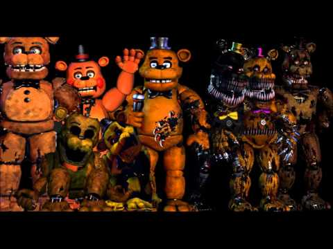 II GUMMY BEAR SONG II All Freddy,s Voices