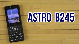 обзор телефона Astro B245(белый) от разетки