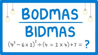 How to use BODMAS (Order of Operations)  #2