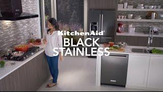 Black Stainless Steel Appliances   KitchenAid