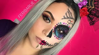 Maquillaje Catrina Fácil