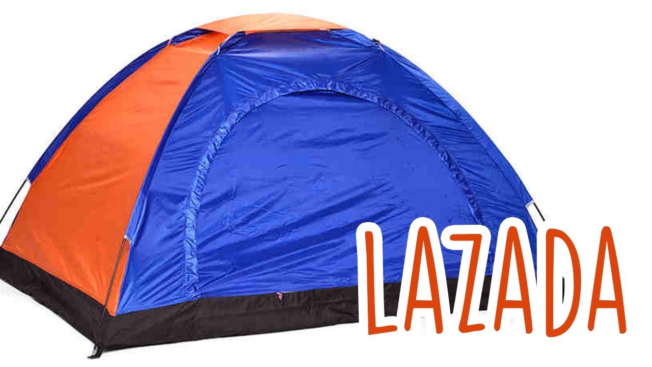 Lazada Tent Review - YouTube