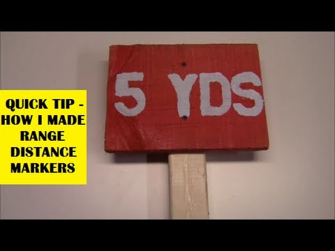 Range Distance Markers Youtube