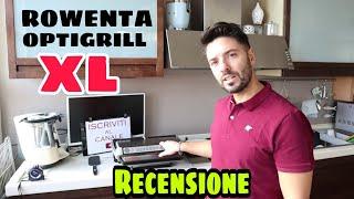 ROWENTA OPTIGRILL XL - Come funziona - preparazione Hamburger - Recensione