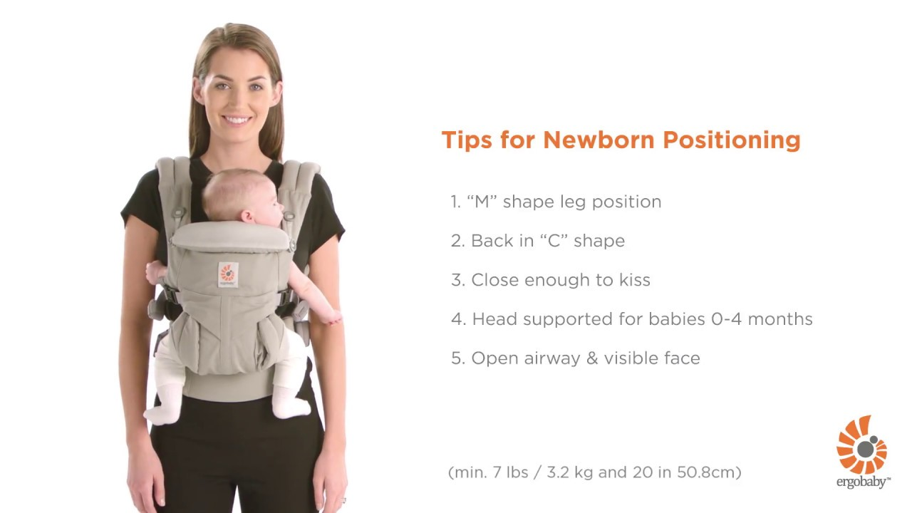 df0b33e22 Omni 360   Tips for Safe and Comfortable Babywearing with a Newborn ...