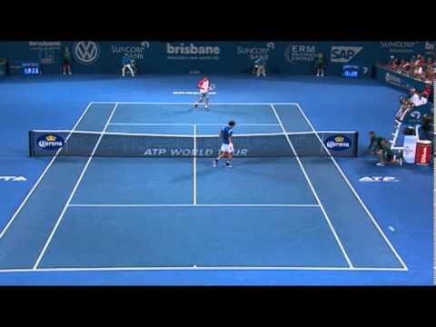 Grigor Dimitrov v Robin Haase - Highlights Men's Singles Round 1: Brisbane International 2014 from YouTube · Duration:  2 minutes 38 seconds