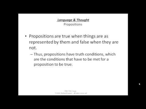 Logic F14 06-02 Language & Thought