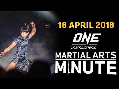 Martial Arts Minute | 18 April 2018