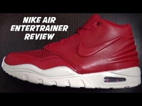 Nike Air Entertrainer Varsity Red Sneaker Review