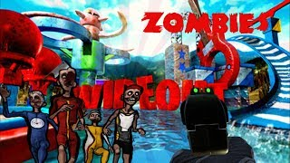Wipeout Zombies: All the Parkour RAGE!!! (BO3 Custom Zombies)