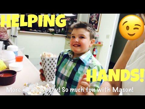 LENDING A HELPING HAND!