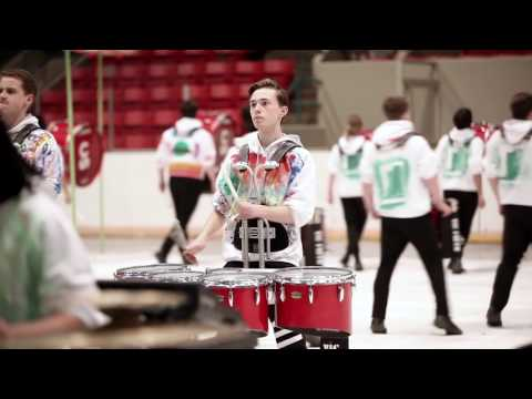 "Calgary Stampede Showband Winter Percussion 2017 - ""The Other Side of Here"""